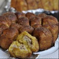 南瓜奶酪肉桂猴子面包