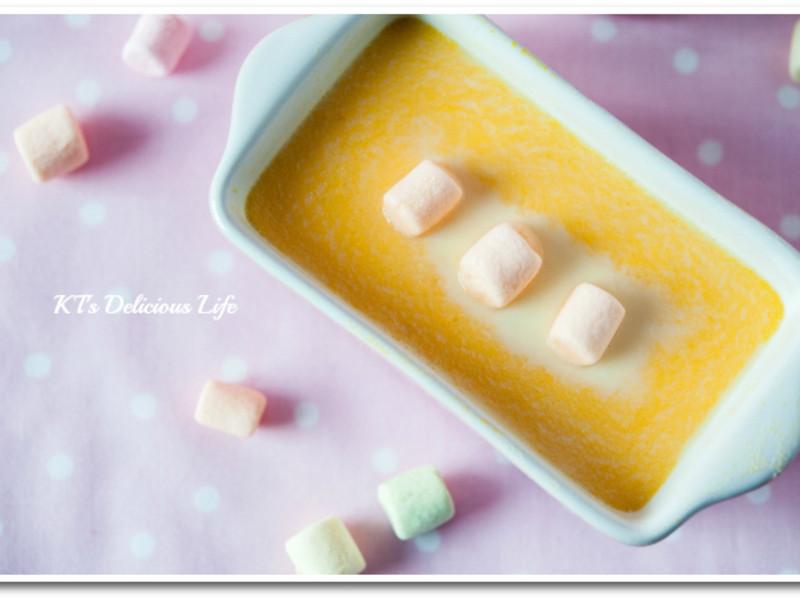 南瓜牛奶布丁