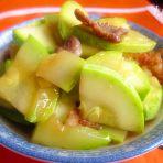 南瓜肉片的做法