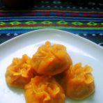 南瓜三鲜蒸饺的做法