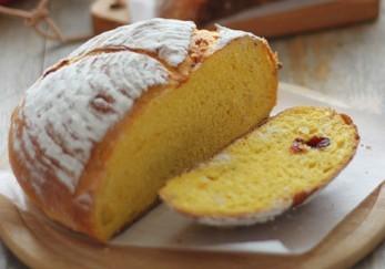 南瓜松仁面包的做法