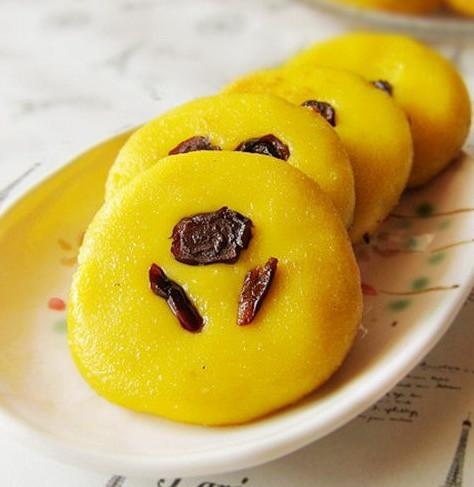 南瓜香薯饼