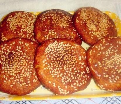 南瓜芝麻饼的做法