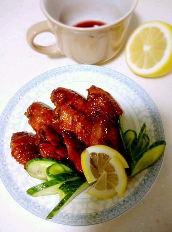 柠香可乐鸡翅