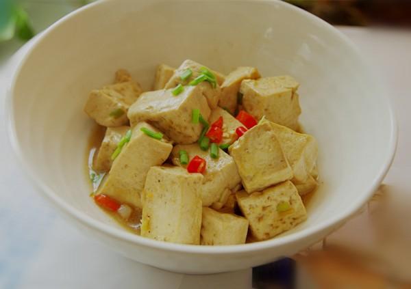 牛肉味素烧豆腐