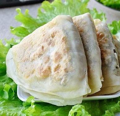 牛肉荠菜饼