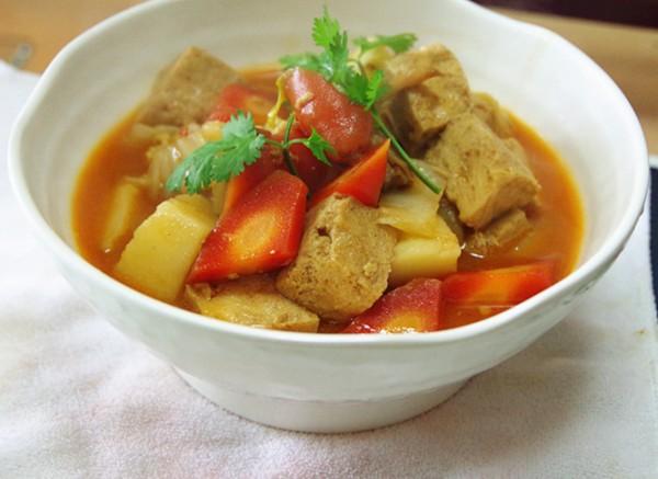 浓香炖冻豆腐