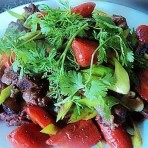 排骨冬菇焖红萝卜