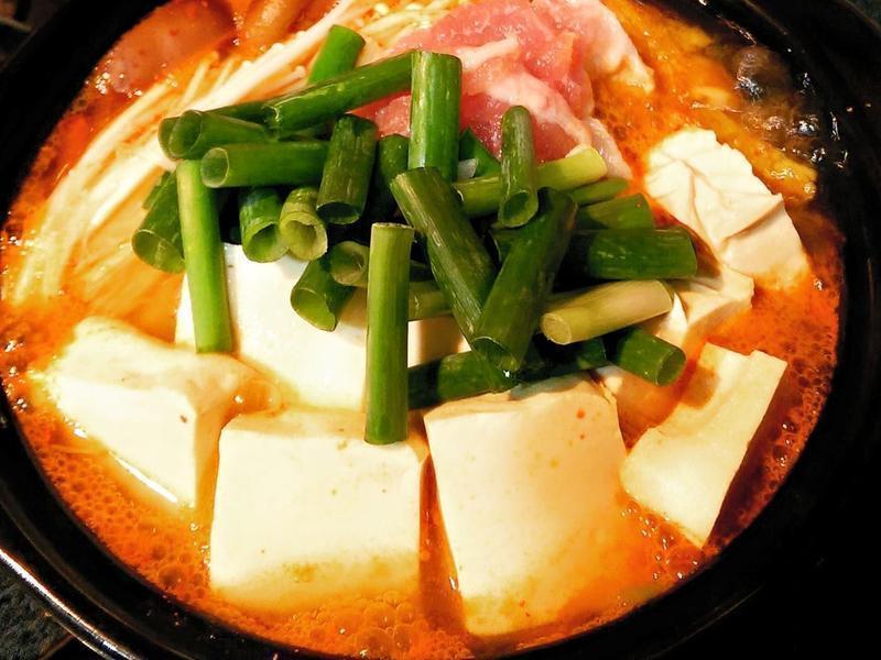 泡菜豆腐猪肉锅