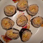 泡菜寿司卷的做法