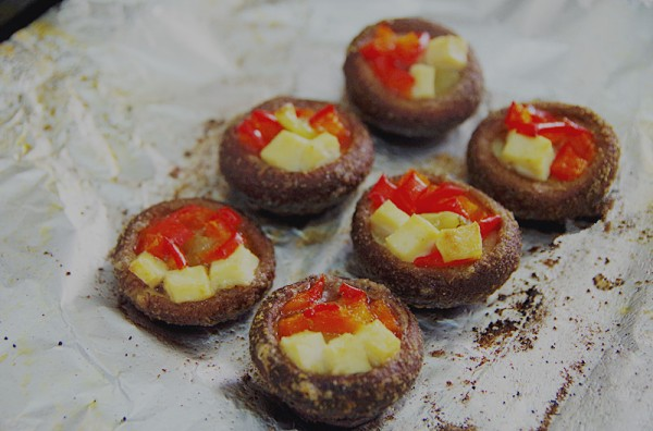 泡椒烤香菇