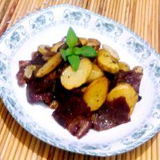 培根香煎土豆片