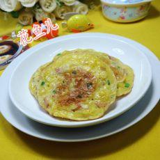 培根玉米片鸡蛋饼