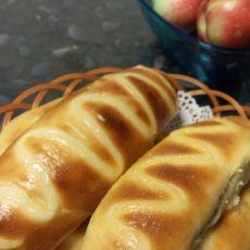 苹果馅酸奶面包