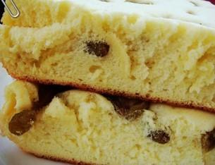 葡萄干蛋糕