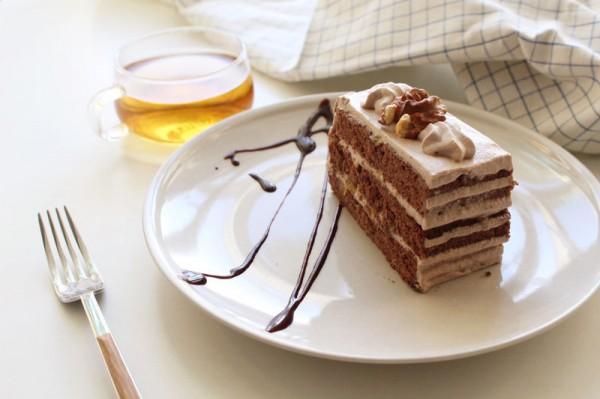 巧克力核桃香蕉蛋糕