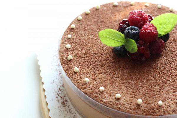 巧克力香蕉慕斯蛋糕的做法