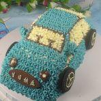 汽车奶油蛋糕的做法