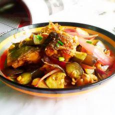 茄香炒鱼块