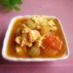 茄汁黄瓜炒鸡蛋的做法