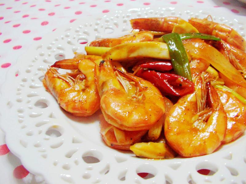 茄汁鲜虾的做法