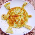 芹菜鸡蛋饼的做法