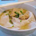 芹菜肉沫汤水饺