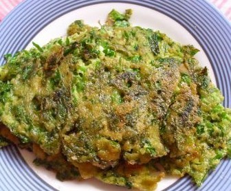 芹菜叶煎鸡蛋