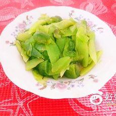 青椒炒莴笋的做法