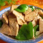 青椒烧豆腐的做法