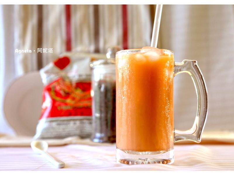 清凉橘色泰式奶茶的做法
