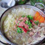 清汤牛肉粉丝锅