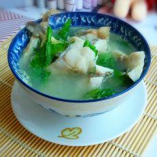 清香鲈鱼芥菜汤