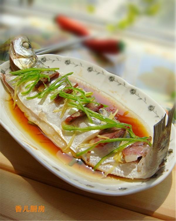 清蒸白水鱼的做法