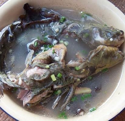 清炖黄菇鱼