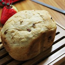 全麦果干面包的做法