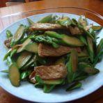 肉炒笋片的做法