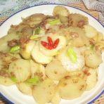 肉糜土豆片
