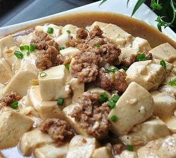 肉末嫩豆腐的做法