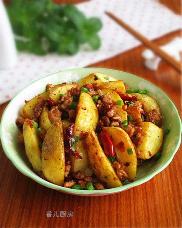 肉末香辣土豆