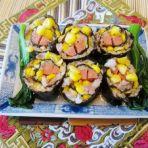 肉沫玉米紫菜卷