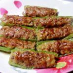 肉酿尖椒的做法