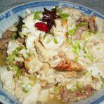 肉片烧豆腐