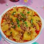 肉碎瓣香米豆腐
