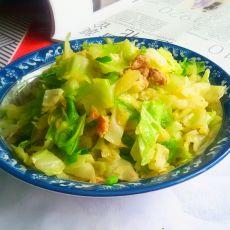 肉香卷心菜