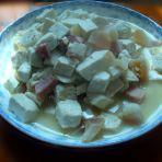 肉炖豆腐块