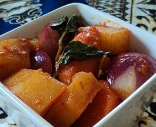 三巴酱焖土豆