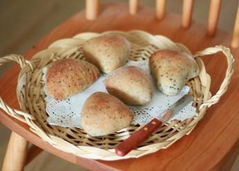 三角红豆面包
