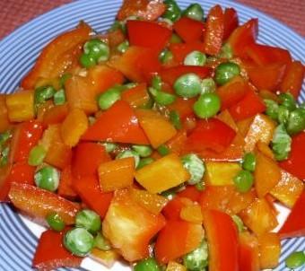 三色素炒豌豆