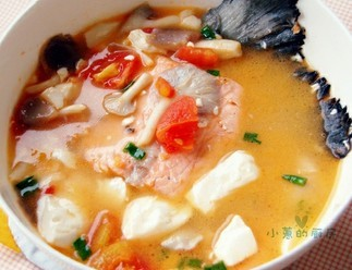 三文鱼浓汤